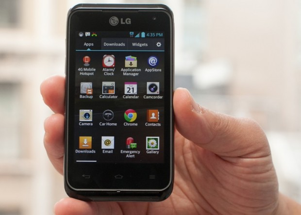 Lancement du LG Optimus F5 4G