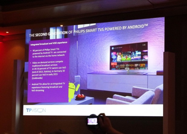 Smart TV : Philips adopte  la Android TV